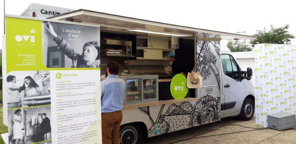 Fondation OVE  (Food Truck neuf)