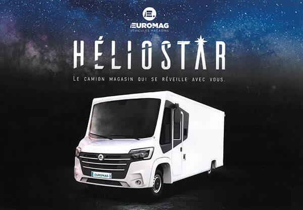 Héliostar II : le camion magasin en avant-première